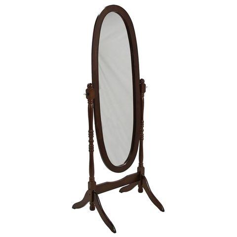 Зеркало овальное напольное МК-2301 из массива гевеи