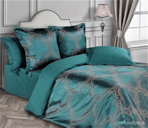 Жаккардовое постельное бельё 2 спальное, Альфредо