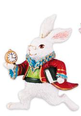 Елочное украшение Белый кролик