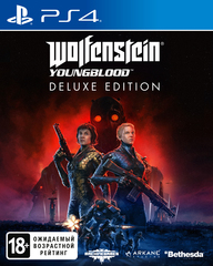 Wolfenstein: Youngblood. Deluxe Edition (PS4, русская версия)