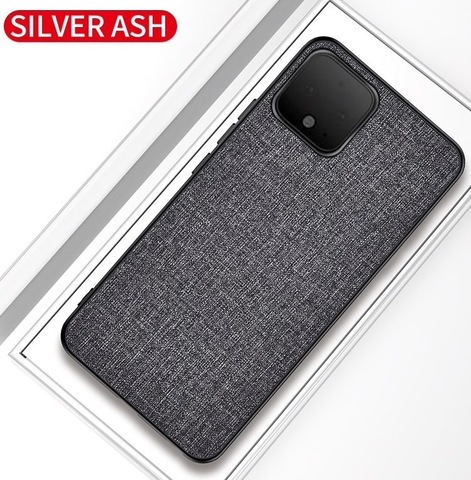 Тканевый чехол для Google Pixel 3a XL (Серый) (NEW)
