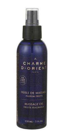 CHARME D'ORIENT | Масло для тела с фруктовым ароматом / Huile de massage parfum Fruits - Massage oil Fruits fra, (150 мл)