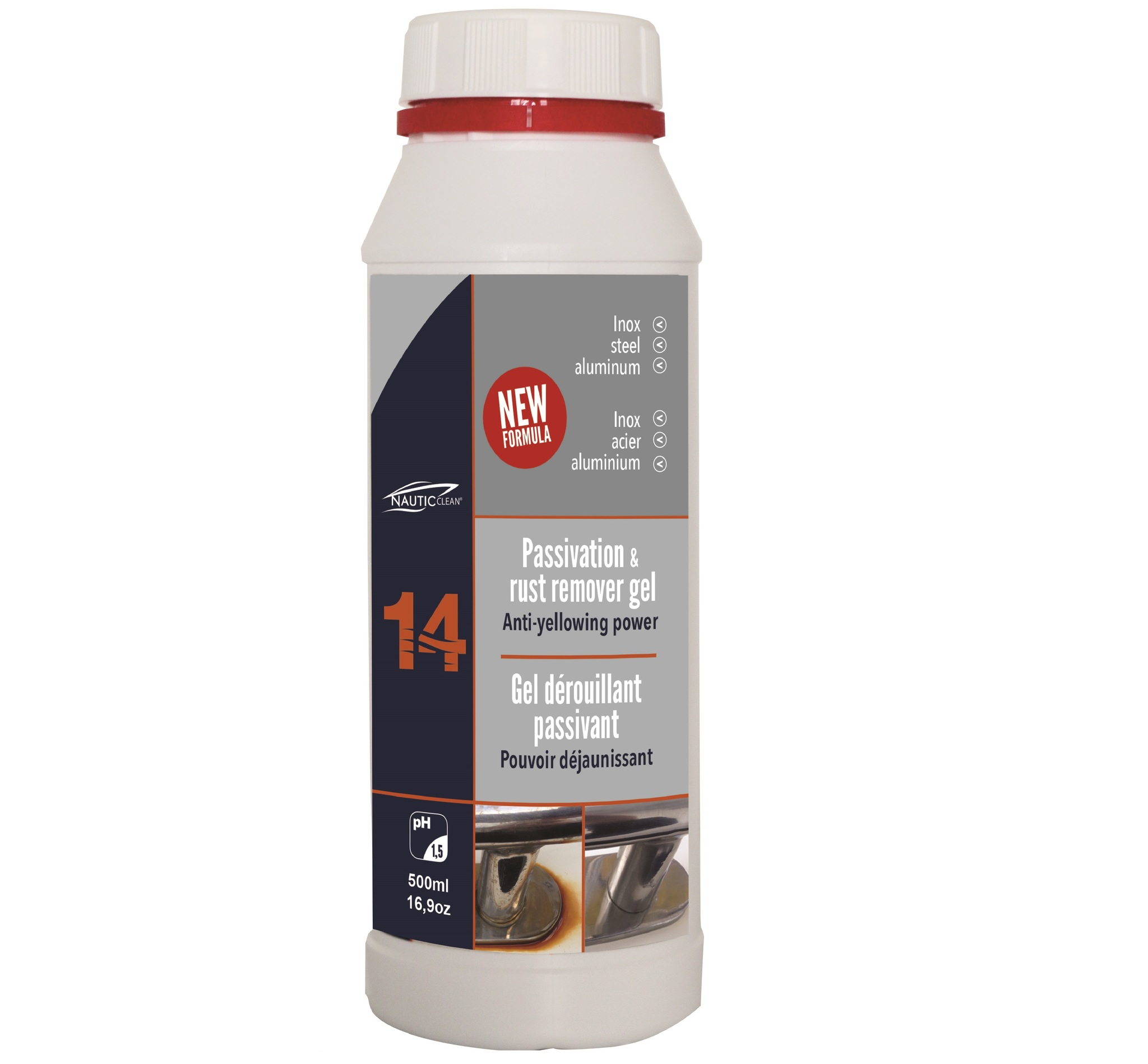 Passivation & rust remover gel №14