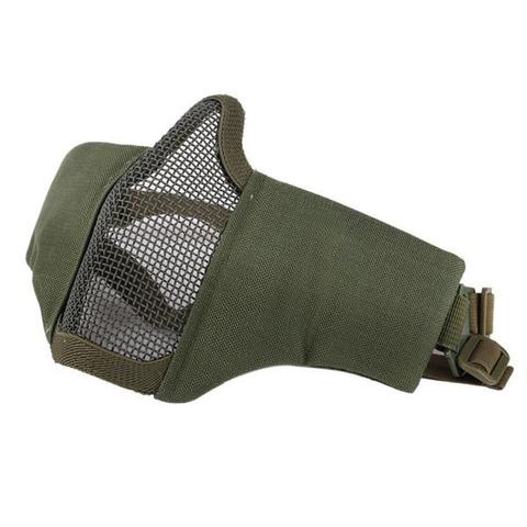 Wosport Маска защитная Ninja, Olive (MA-42-OD)
