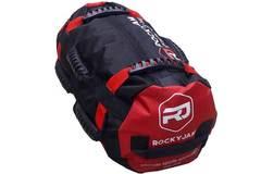 Сэндбэг RockyJam L (35-100 кг) красная с резиновыми ручками - 2