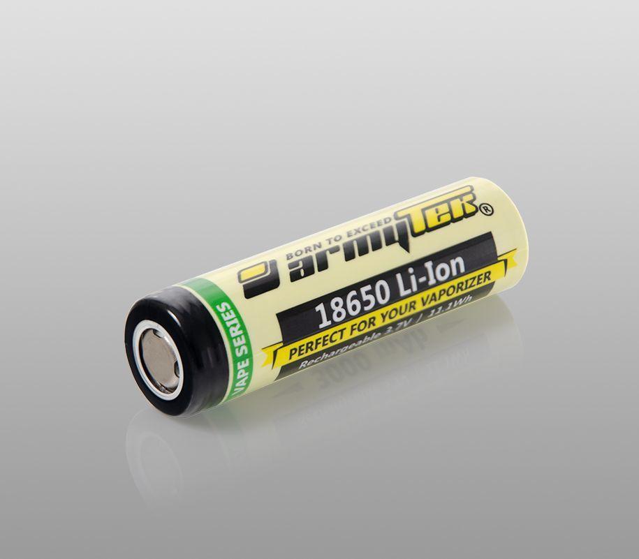 Аккумулятор Armytek VE 18650 Li-Ion 3000 mAh - фото 1