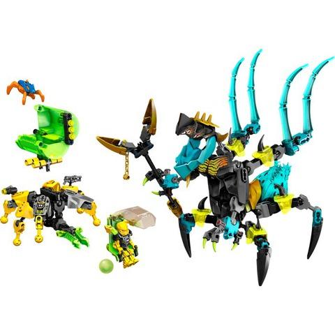 LEGO Hero Factory: Королева Монстров против Фурно, Эво и Стормера 44029 — QUEEN Beast vs. FURNO, EVO & STORMER — Лего Фабрика Героев