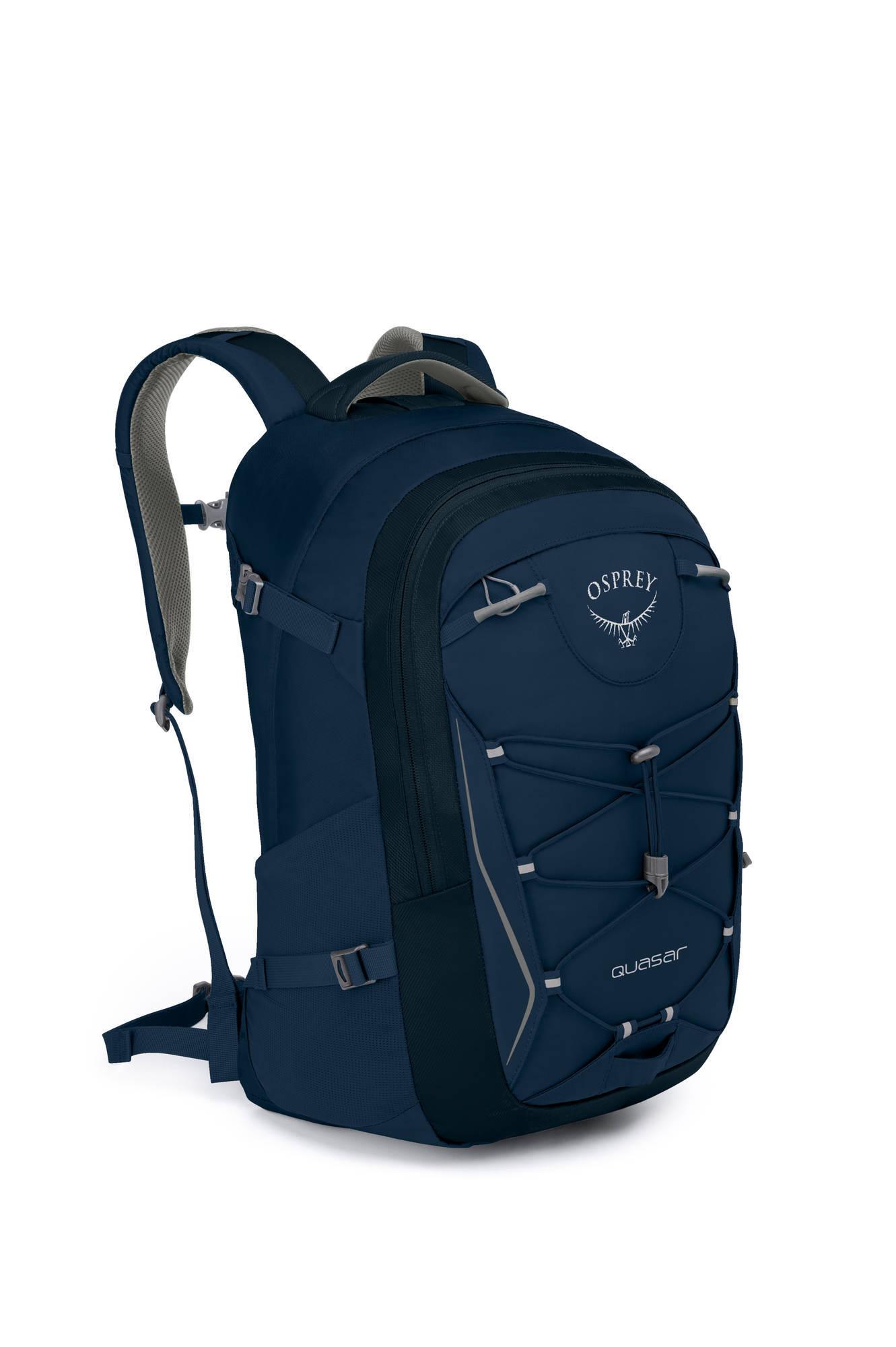Городские рюкзаки Рюкзак городской Osprey Quasar 28 Navy Blue Quasar_28_Side_Navy_Blue_web.jpg