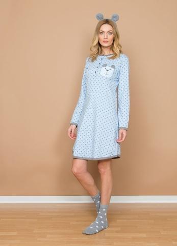 Домашнее платье из хлопка Buccia di Mela