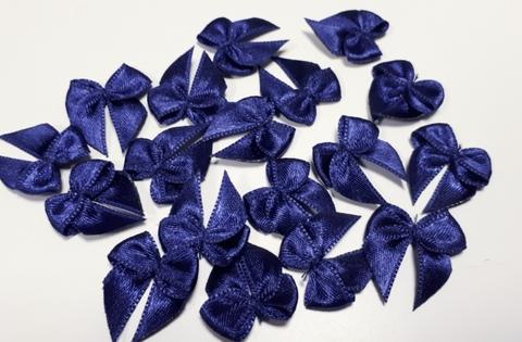 Бантики, темно-синий