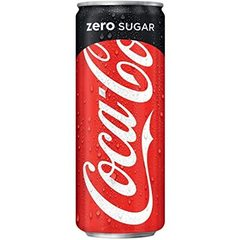 Coca-Cola Zero 0.33 L (dəmir qab)