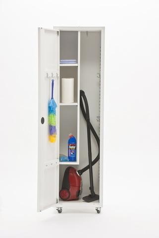 Шкаф медицинский МЕТ ЭССЕН 1МУ, для уборочного инвентаря - фото
