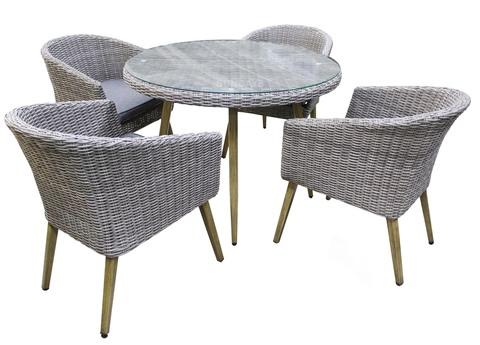 Комплект садовой мебели Sundays CAMELLIA RDS-721 (стол, 4 стула)