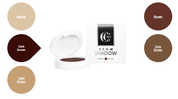 Тени для бровей CC Brow Brow Shadow Dark brown