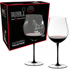 Набор из 2-х бокалов для вина Riedel Burgundy Grand Cru, Sommeliers Value Pack, 1050 мл, фото 3