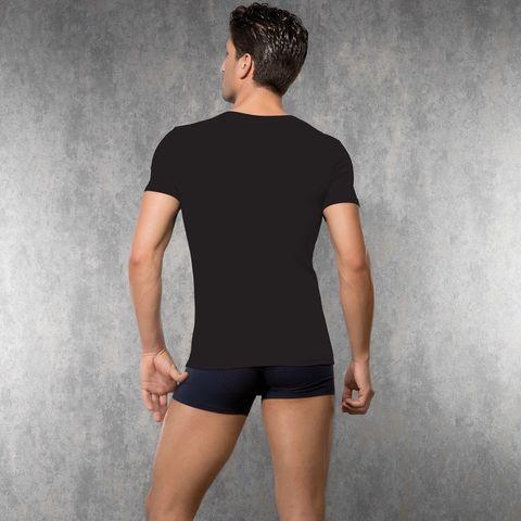 Мужская футболка черная Doreanse 2820
