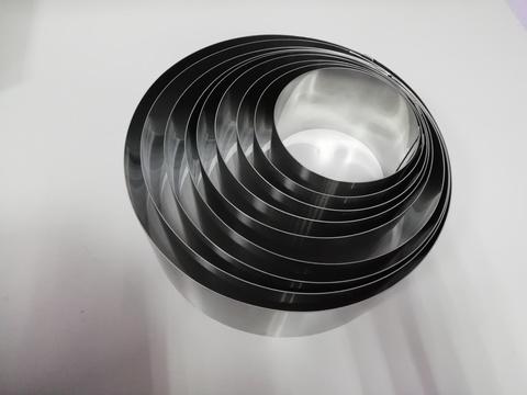 Комплект колец-резаков 9 шт, H10 D= 14/16/18/20/22/24/26/28/30 см, нерж. сталь 1 мм.