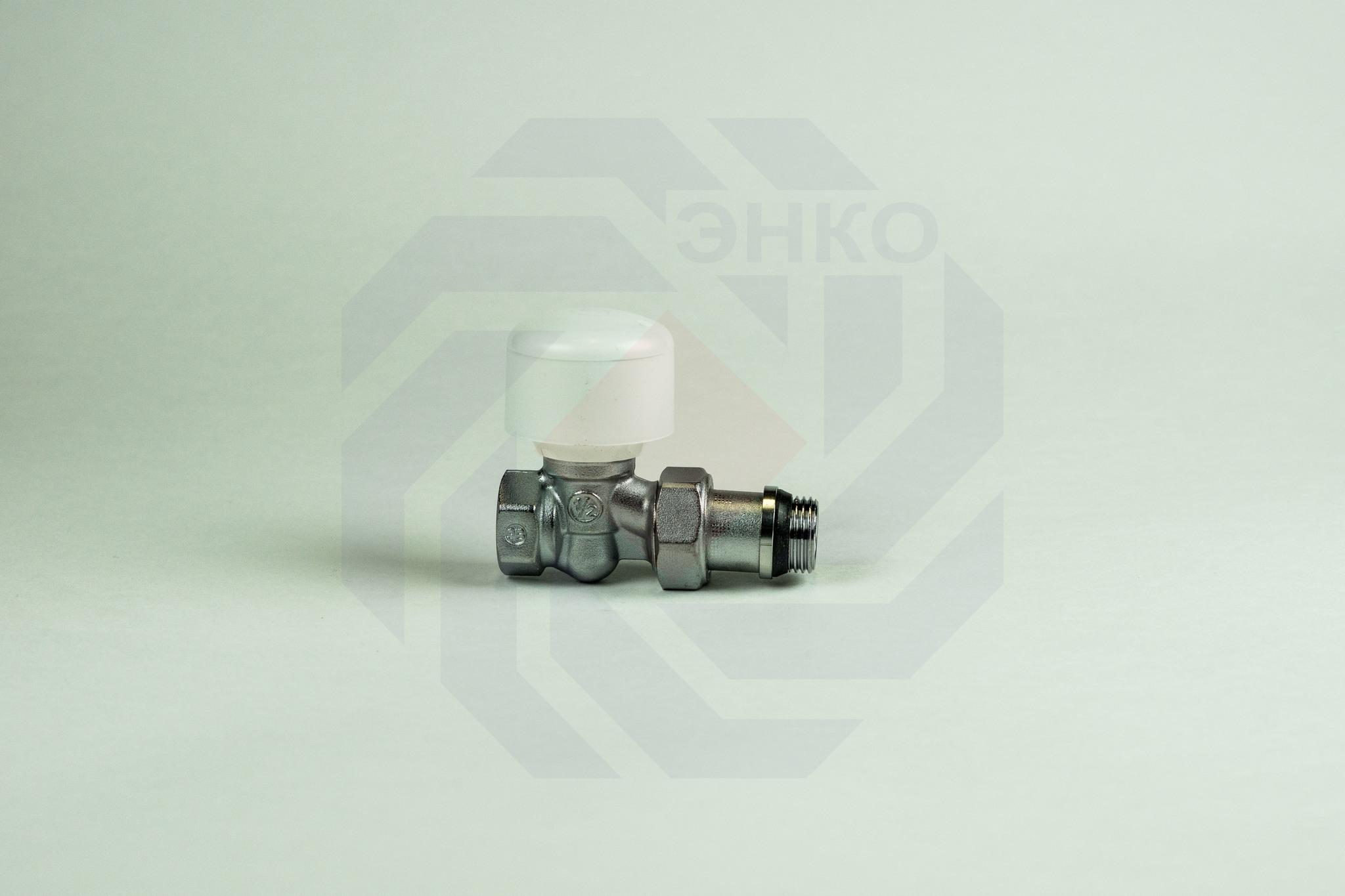 Клапан радиаторный ручной GIACOMINI R6TG прямой ½