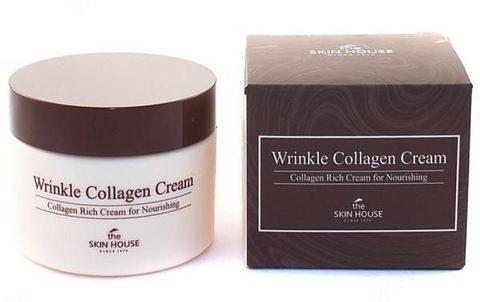 Коллагеновый антивозрастной крем The Skin House Wrinkle Collagen Cream