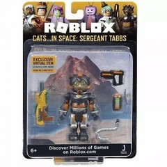 Игровая коллекционная фигурка Jazwares Roblox Core Figures Cats...IN SPACE: Sergeant Tabbs W5