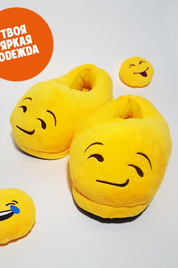 "Тапочки Тапочки Emoji ""Ухмылка"" ухмылка.jpg"