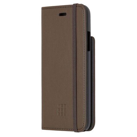 Чехол (флип-кейс) Moleskine для Apple iPhone X IPHXXX коричневый (MO2CBPXP14)