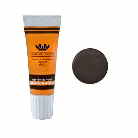 Пигмент Corona Colors для микроблейдинга Дымчатый коричневый (Smokey Brown ) 15 мл