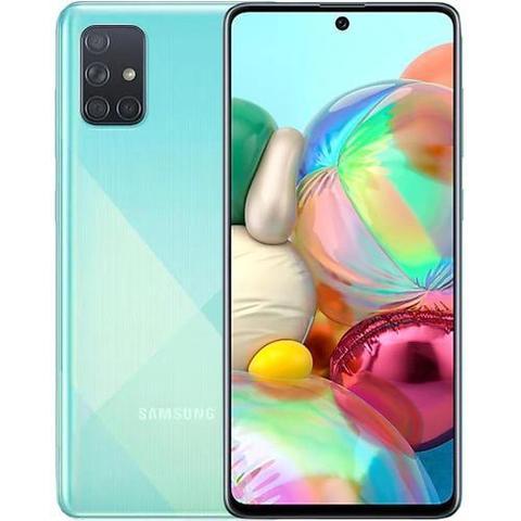Смартфон Samsung Galaxy A71 6/128GB (голубой)