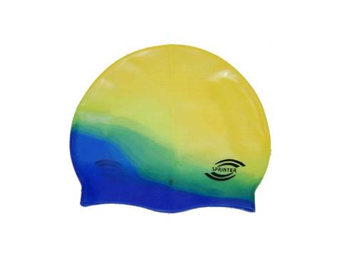 Шапочка для плавания Sprinter (мультицвет) S-300