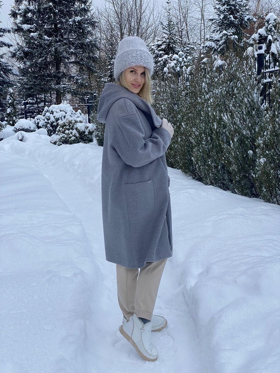 Пальто, Ballerina, Netherlands (серый)