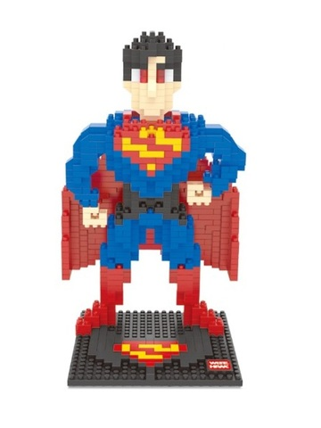 Конструктор Wisehawk Супермен 777 деталей NO. 2429 Superman Sliper Heroes