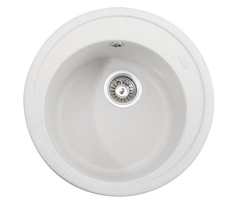 Кухонная гранитная мойка Kaiser KGM-510-W белый