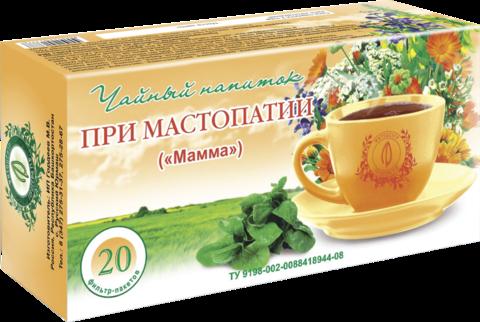 Чайный напиток «МАММА», ф/п, 20шт., кор. ИП Гордеев М.В.