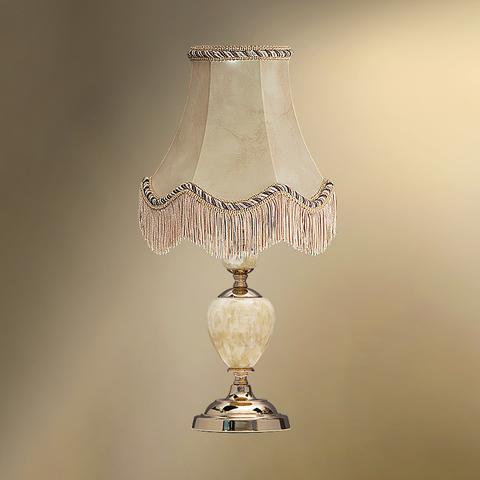 Настольная лампа с абажуром 24-20Ф/8022Ф СТАРЫЙ АРБАТ