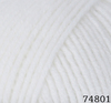 Пряжа LANA LUX  74801 (Белый)