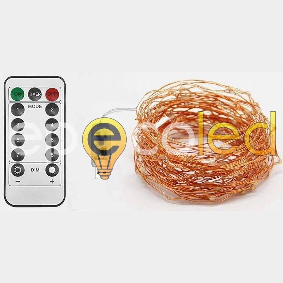 Гирлянда EPECOLED разноцветная (USB, на пульте, 30 метров, 300LED)