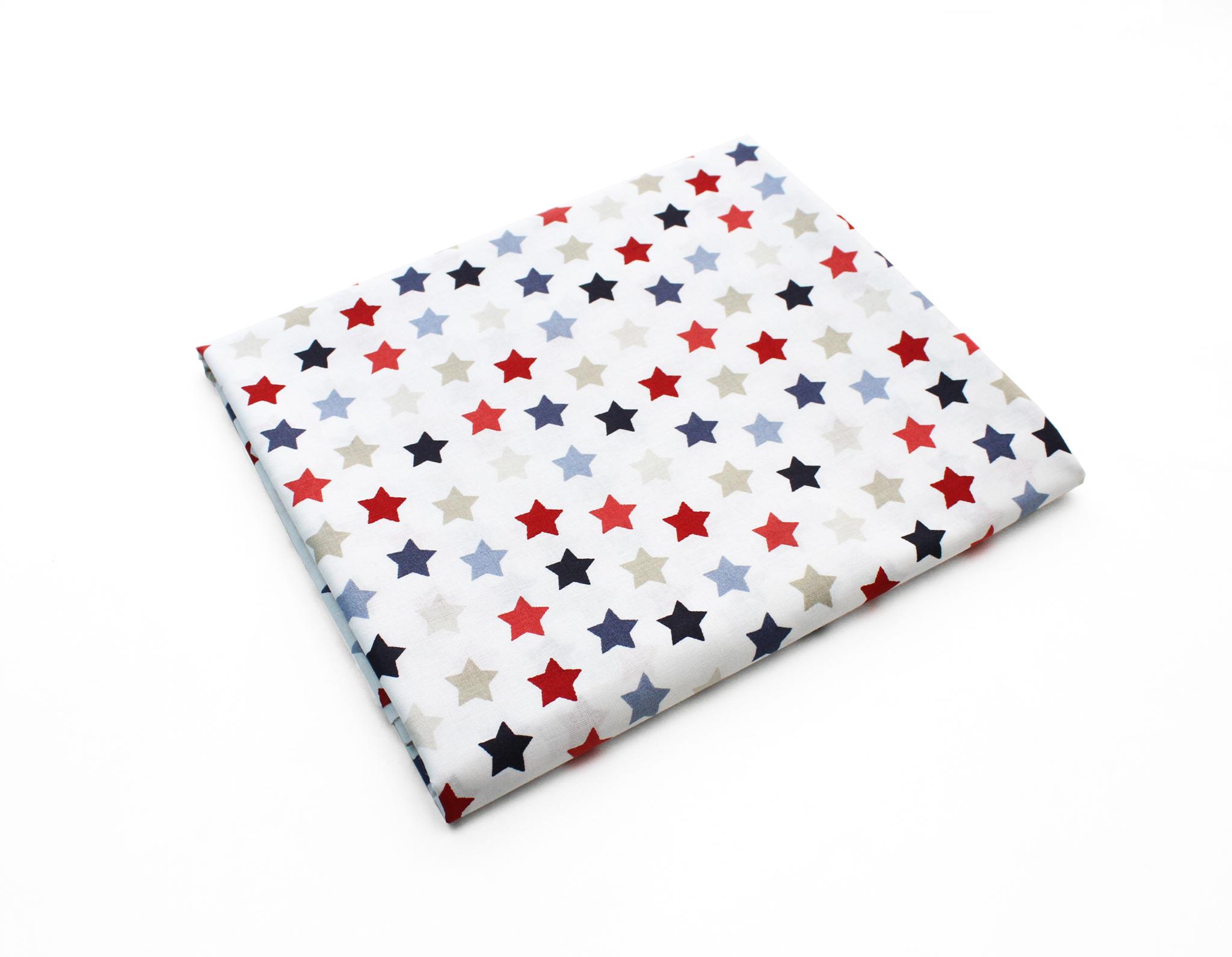 Звезды разноцветные,1,5 см,240 см