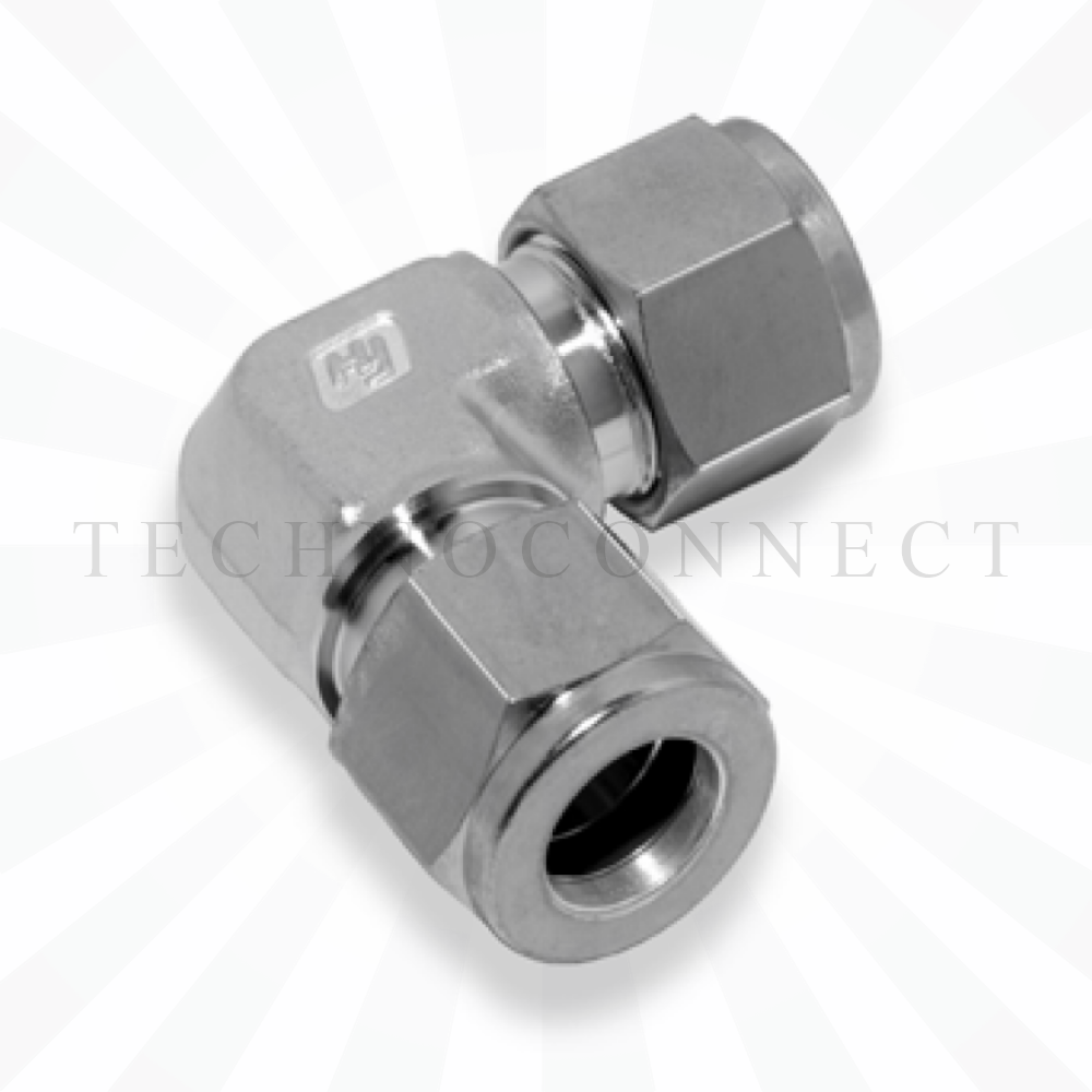 CLA-4M  Соединитель угловой: метрическая трубка  4 мм - метрическая трубка   4 мм