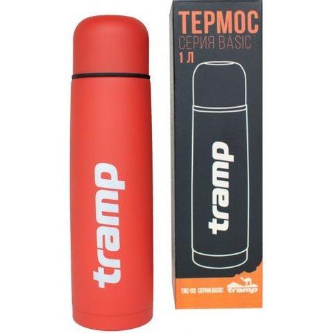 Термос 1,0 л. Tramp TRC-113 (красный)