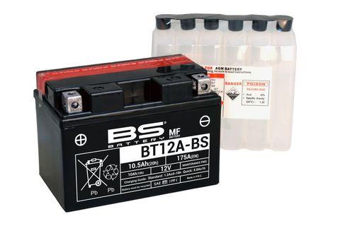 BT12A-BS Аккумулятор (YT12A-BS)