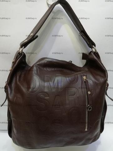 Коричневая женская сумка из кожи NF190905