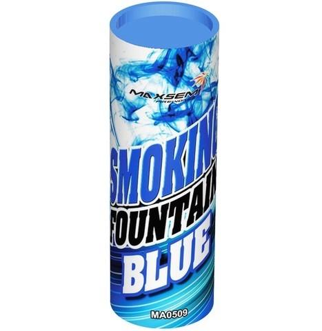Дым голубой 30 сек. h -115 мм.