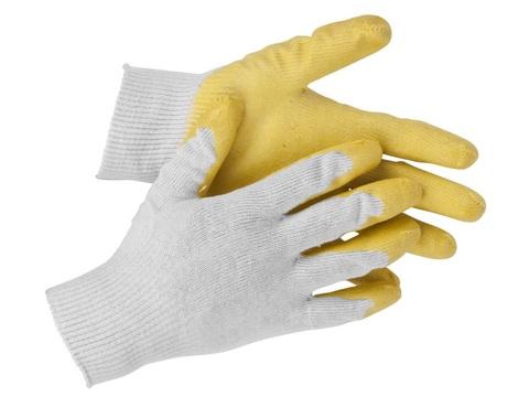 STAYER PROTECT, размер S-M, перчатки с одинарным латексным обливом
