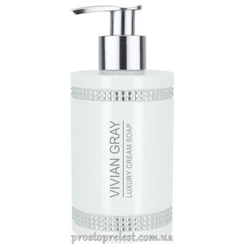 Vivian Gray White Crystal Luxury Cream Soap - Рідке крем-мило