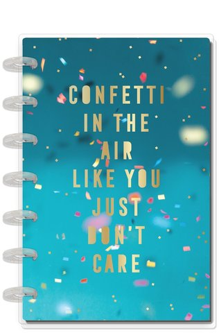 Ежедневник  Mini Happy Planner®  -13х18 см - Confetti In The Air Celebrate