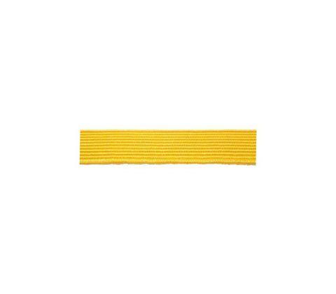 Галун шёлковый (ширина 10 мм.) желтый