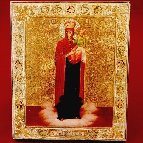 Икона Божией Матери Благодатное Небо на дереве на левкасе мастерская Иконный Дом
