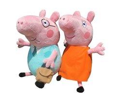 Свинки мама и папа мягкие игрушки