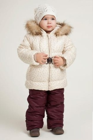 КС454 Костюм для девочки Зима