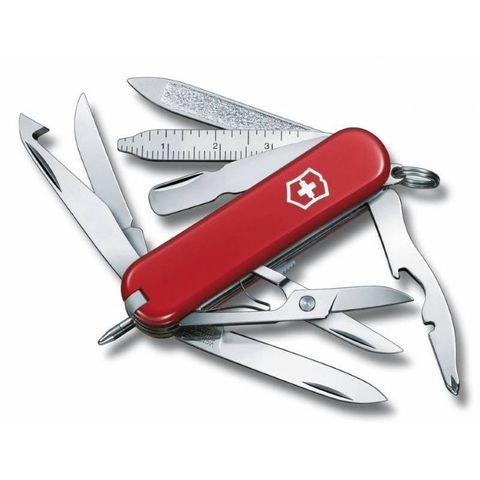 Нож перочинный Victorinox MiniChamp (0.6385) 58мм 17функций красный